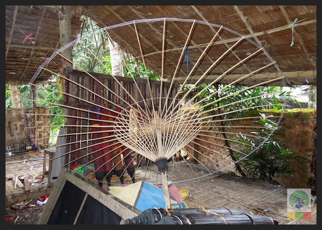 Bamboo Burmese Parasol - Myanmar (Burma)
