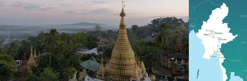 Classic tour in Myanmar