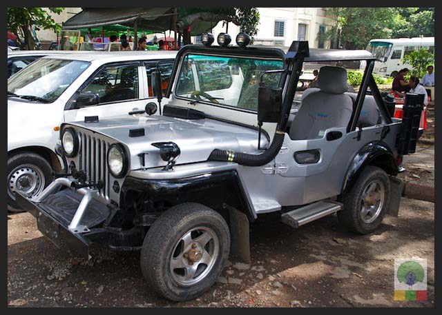4x4 Jeep Car - Myanmar (Burma) 2