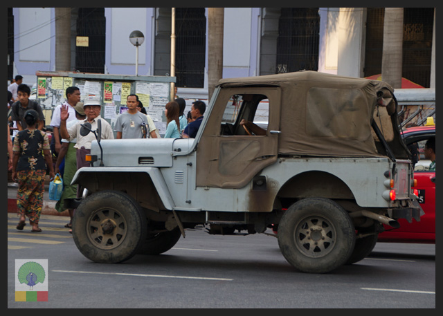 4x4 Jeep Car - Myanmar (Burma) 7