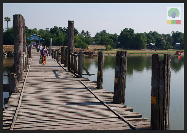 U Bein Teak Bridge - Amarapura - Mandalay - Myanmar (Burma)2