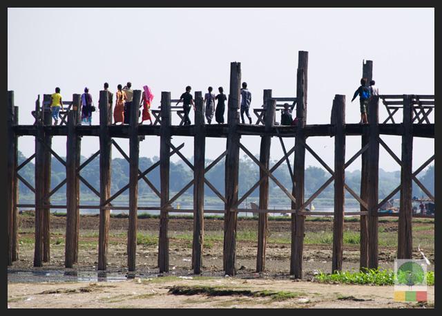U Bein Teak Bridge - Amarapura - Mandalay - Myanmar (Burma)3