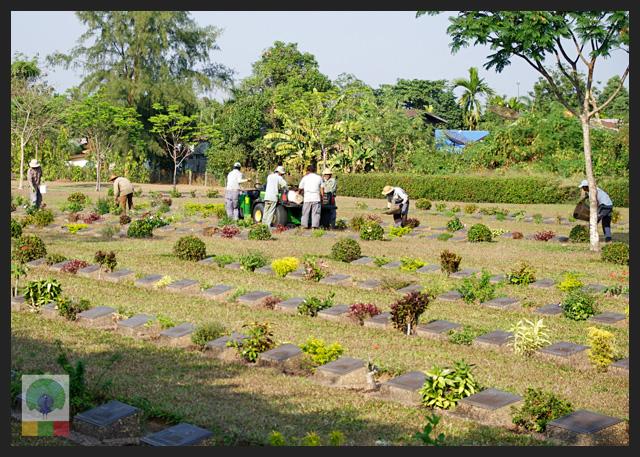 Taukkyan war cemetery - near Yangon - Myanmar Travel Essentials 7