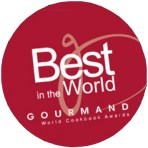 Delicious Myanmar - Best in the World Gourmand Awards logo sticker