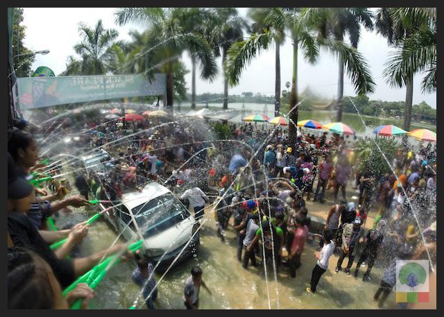 Water Festival in Yangon