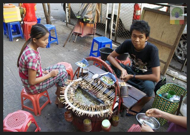 Pork hot pot - Delicious Myanmar 2