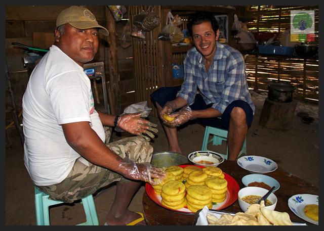 Shan Yellow Rice - Delicious Myanmar 6
