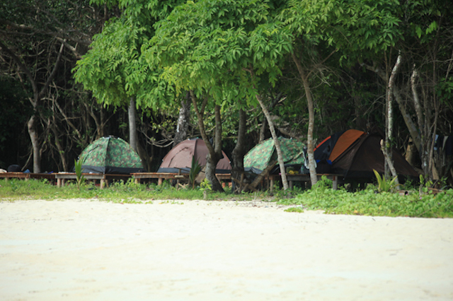 Camp - Myeik - Mergui Archipelago - Myanmar Travel Essentials