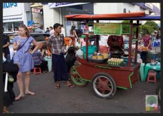Street Snack Tour - Pancake - Myanmar Travel Essentials
