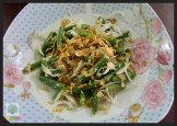 Yangon Cooking Class - Long Bean Salad 2 - Myanmar Travel Essentials