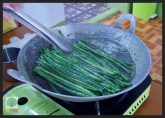 Yangon Cooking Class - Long Bean Salad 3 - Myanmar Travel Essentials