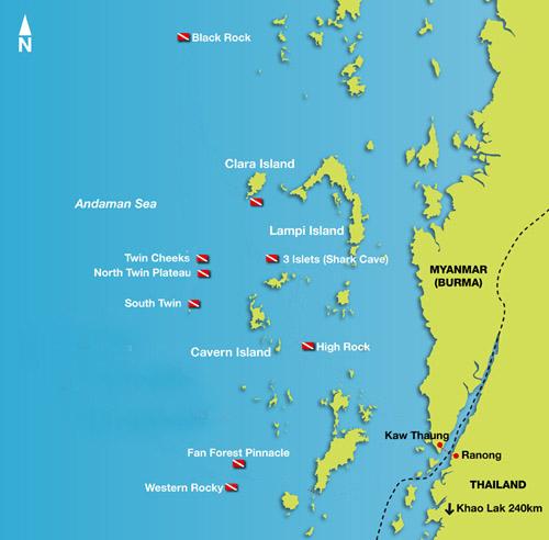 Mergui Archipelago - Diving Trip Itinerary - Myanmar Travel Essentials