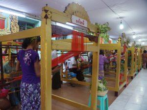 Matho Robe weaving