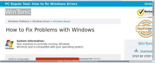 How to remove Win Tonic pop-ups [Virus removal guide]
