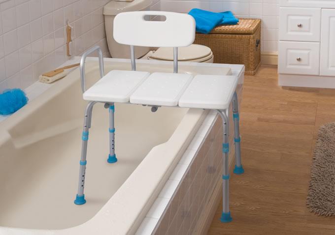 Bathtub Transfer Bench By AquaSense AquaSense