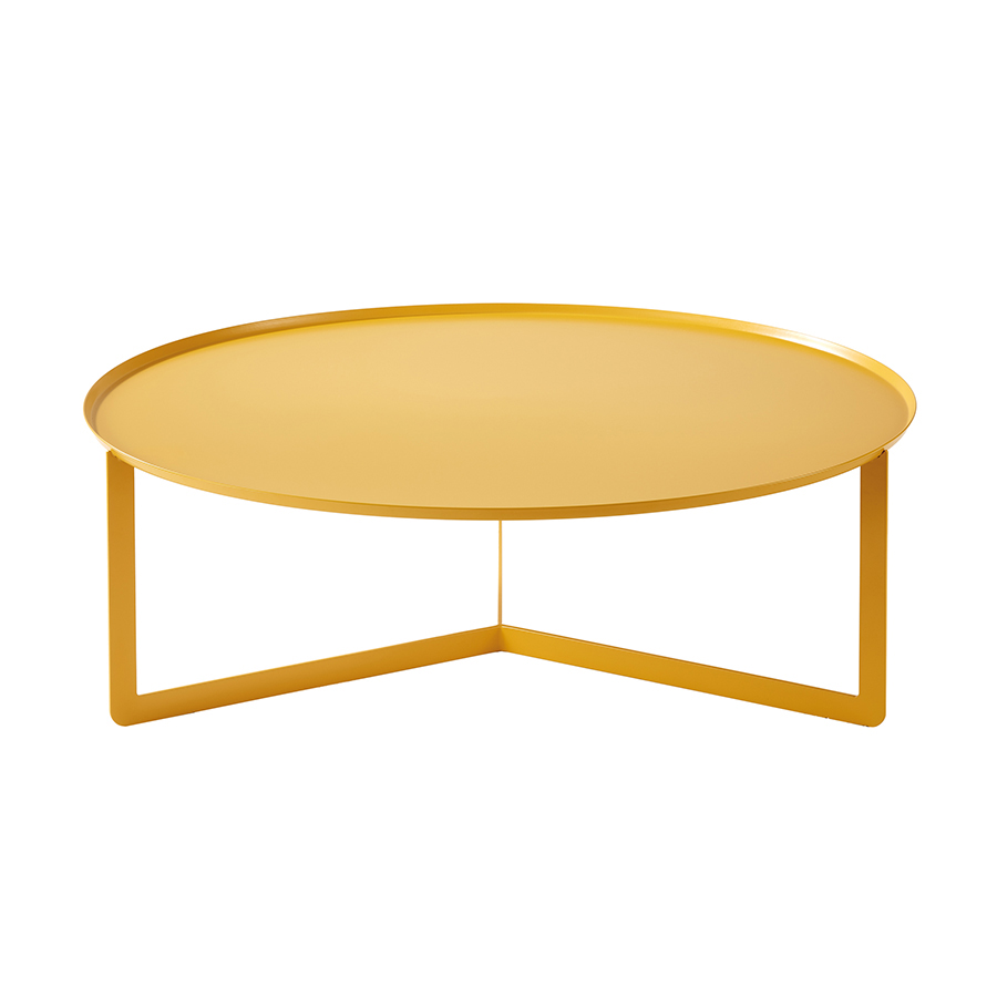 meme design outdoor coffee table round 5 outdoor maya yellow metal