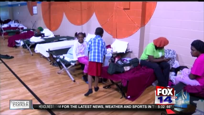 Shelters Home to Flood Victims 5-30pm_48438132-159532