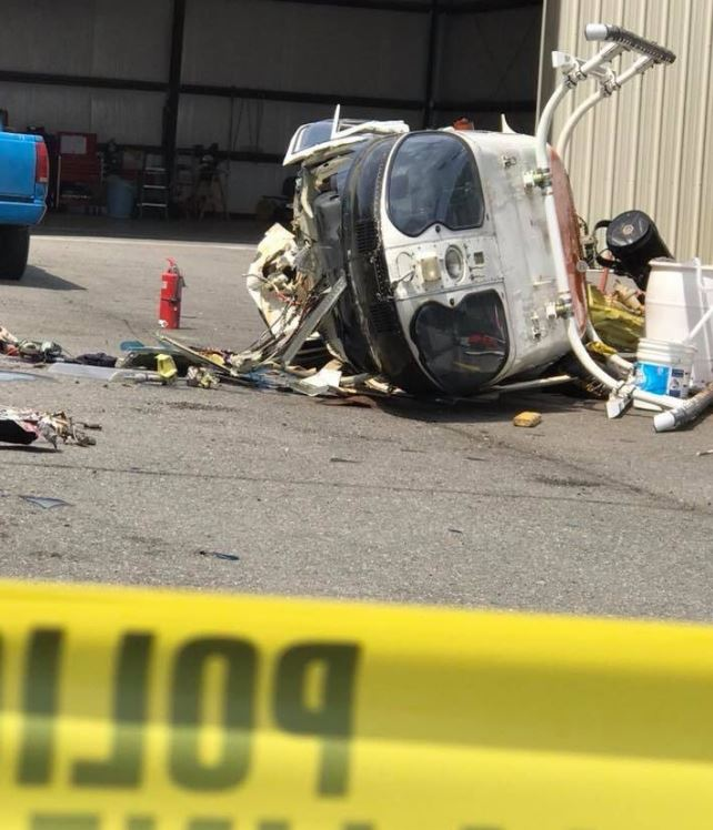 Little Rock Police helicopter crashes in Pulaski County