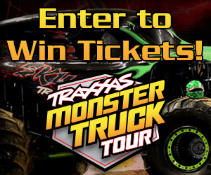 Traxxas Monster Truck Tour Ticket Giveaway