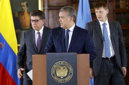 Ivan Duque, Gustavo Meza, Jonathan Guy