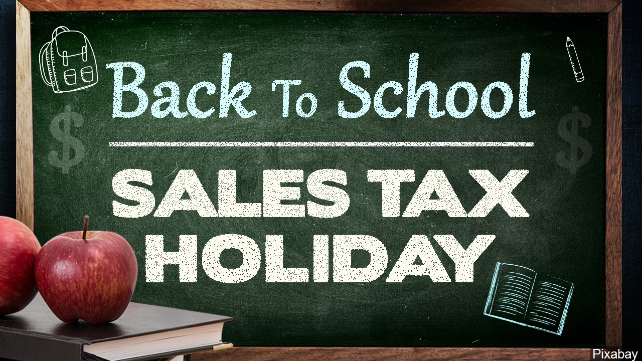 Back to School sales tax holiday this weekend in Arkansas