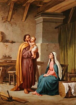 The Holy Family in St Joseph's Workshop - Pietro Pezzati ...