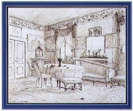 regency style wallpaper