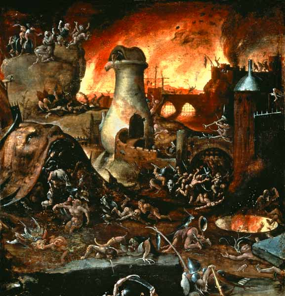 the end of days by hieronymus bosch