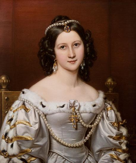 Joseph Karl Stieler - Charlotte of Owen, geb.von groves Schönheitengalerie king Ludwigs I. of Bavaria