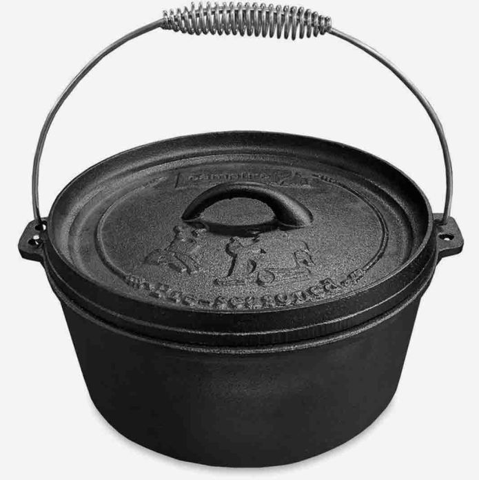 Campfire 4.5Qt Cast Iron Camp Oven