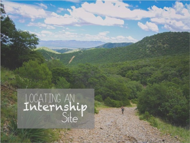 Fields of Knowledge_Locating an Internship Site