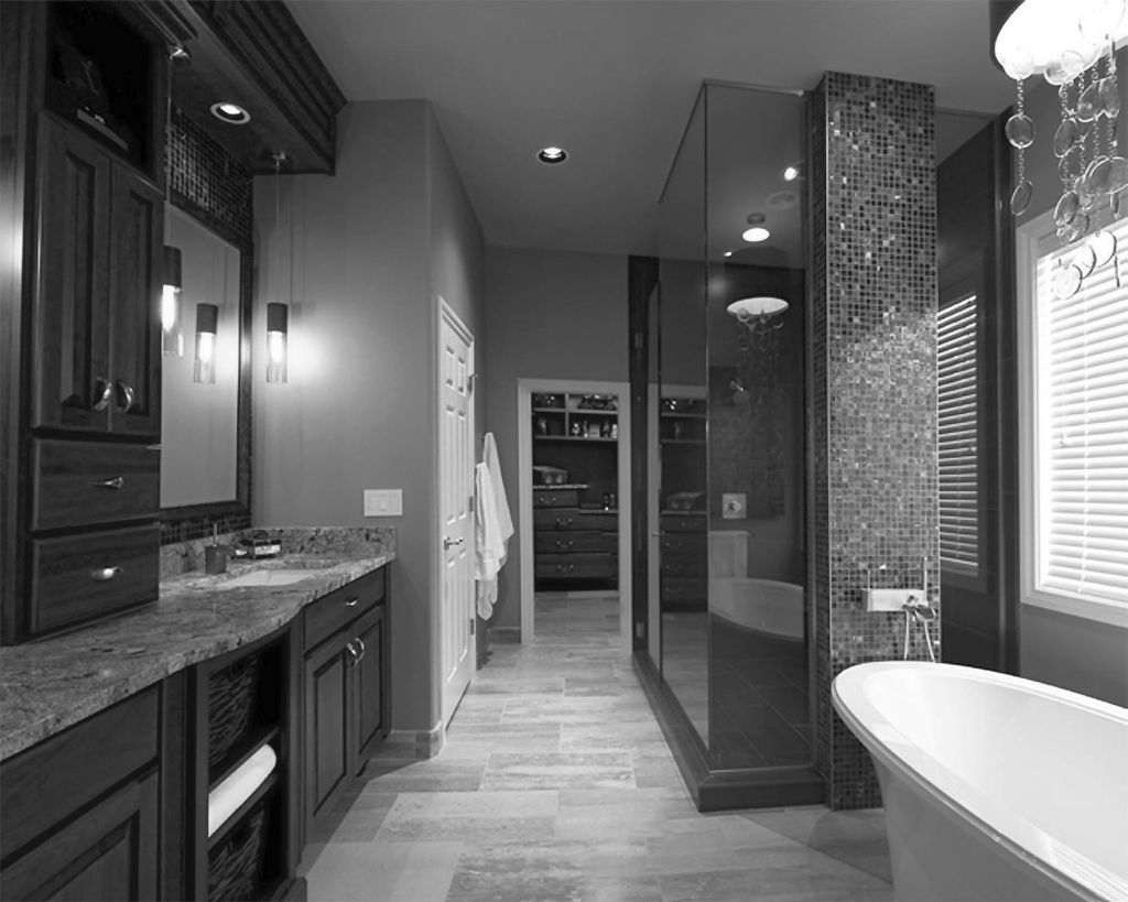 20 Bewitching Modern Black Bathrooms Ideas on Main Bathroom Ideas  id=26434