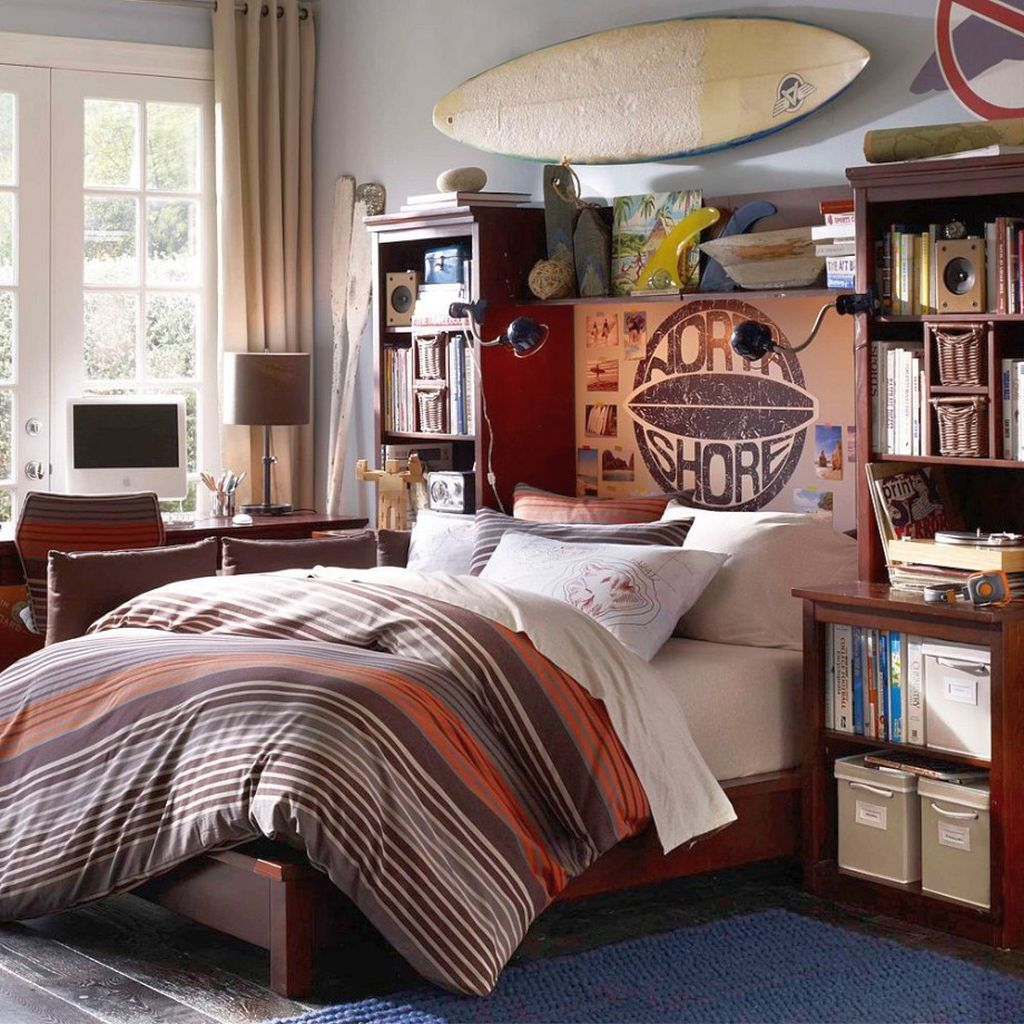 17 Cool Bedrooms for Teenage Guys Ideas on Cool Bedroom Ideas For Teenage Guys With Small Rooms  id=46132