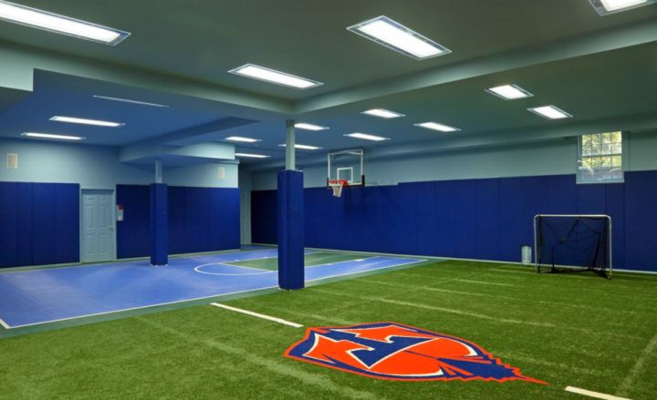 19 Modern Indoor Home Basketball Courts Plans And Designs