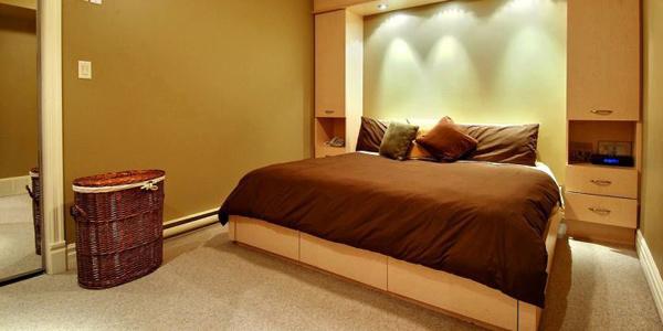 17 Appealing Bedroom Basement Ideas For Guest Room