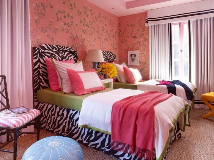 17 Hot Pink Room Decorating Ideas for Girls on Beautiful:9Ekmjwucuyu= Girls Room Decoration  id=85938