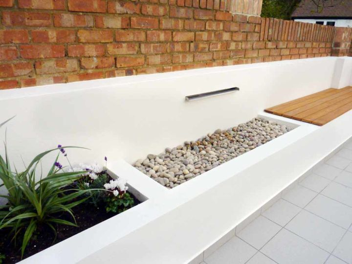 17 Modern Water Feature Designs For Your Garden on Modern Backyard Water Feature id=57043