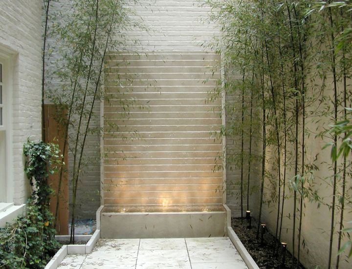 17 Modern Water Feature Designs For Your Garden on Backyard Feature Walls  id=13322