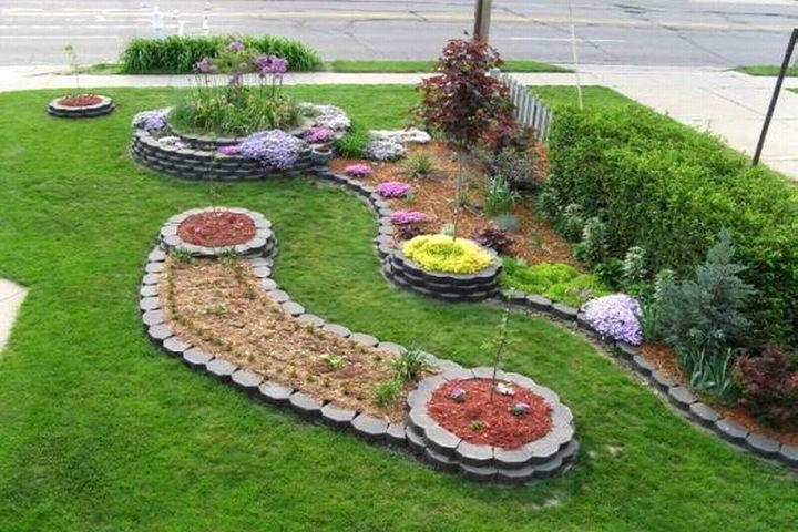 18 Simple and Easy Rock Garden Ideas on Backyard Rock Designs id=80261