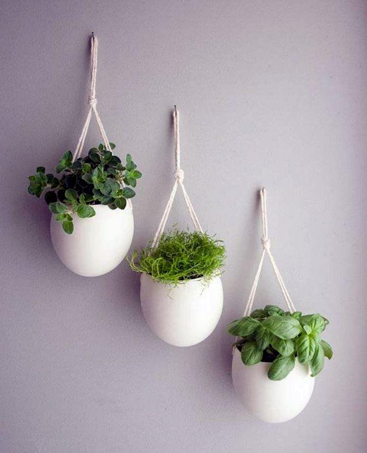 18 Alluring Indoor Wall Hanging Planter Designs on Hanging Plant Pots Indoor  id=65336