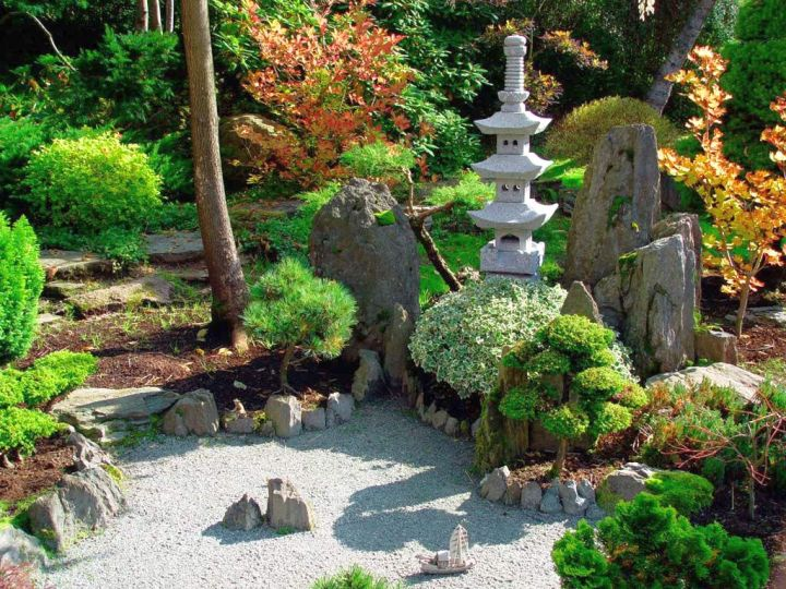 oriental garden design ideas 18 Equable Oriental Garden Designs Landscaping Ideas