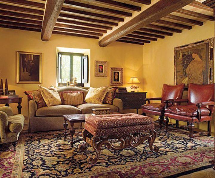 Tuscan Living Room Decor