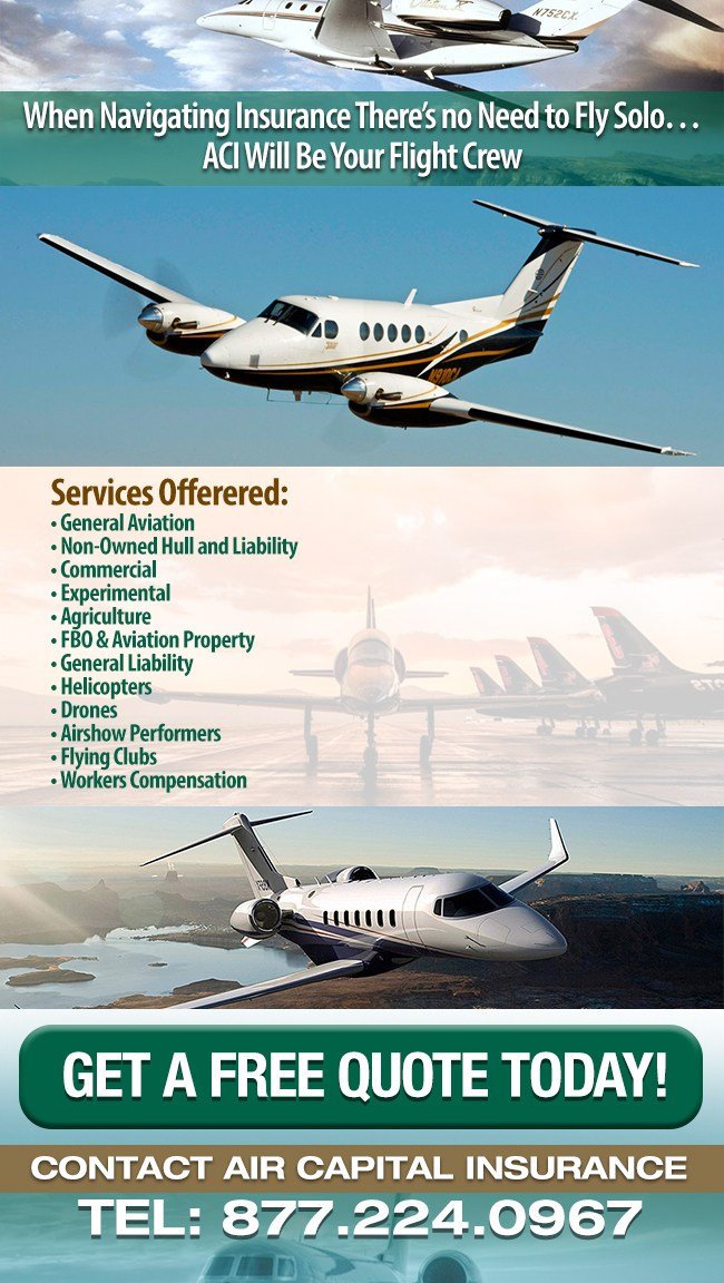 Air Capital Insurance | Aviation Insurance Company