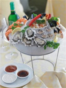 Cafe Martinique Seafood Plateau