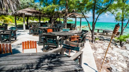 Andros Island, Bahamas: A perfect place to relax and watch the sea.