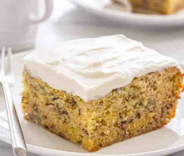 Moist Banana Cake Thats Good For Breakfast Or An Afternoon Pick Me Up