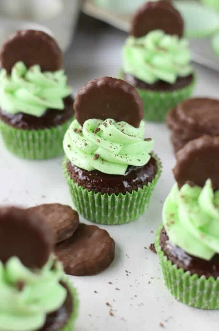 Thin Mint Cupcakes My Baking Addiction