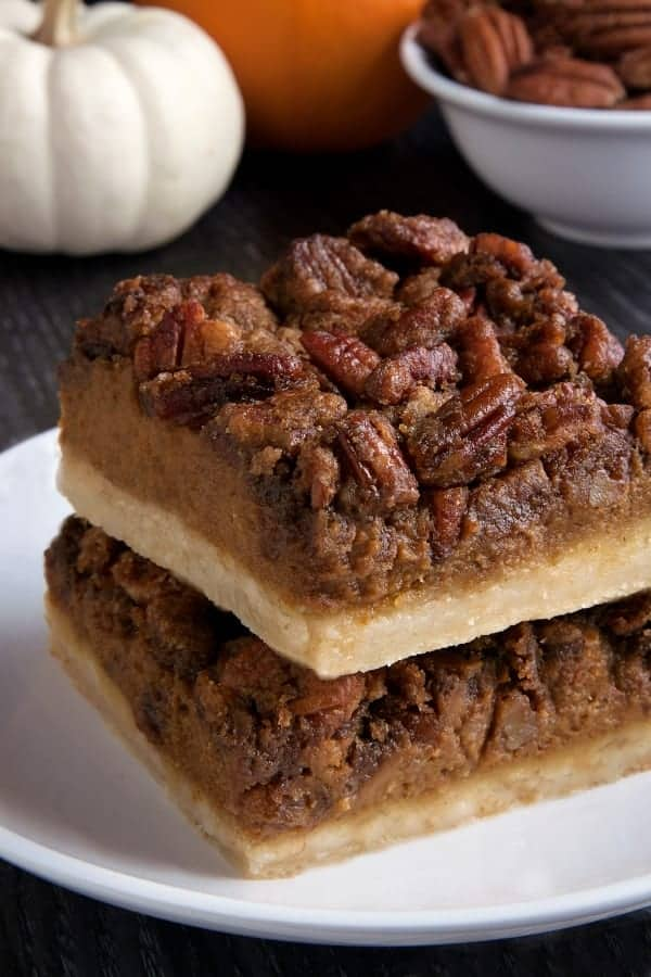 Pumpkin Pecan Bars My Baking Addiction