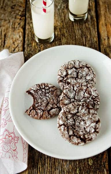 Easy Chocolate Crinkle Cookies Recipe My Baking Addiction
