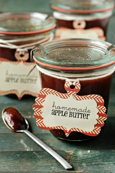 Post image for Holiday Recipe Exchange | Slow Cooker Apple Butter